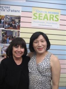 Helen Sears & Pauline Park