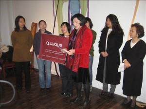 Pauline Park at the Chinatown QAPI press conference (1.30.10)