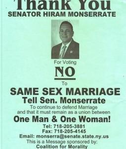 Hiram no on marriage