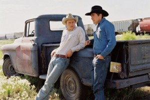 Brokeback Mountain pickup truck