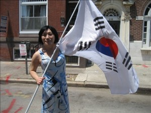 Pauline at Philly Pride 2009