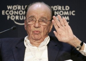 Rupert Murdoch at World Economic Forum