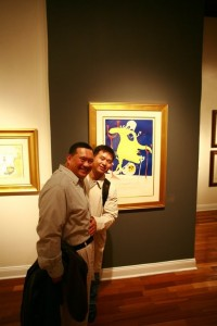 Cesar & Dae at the William Bennett Gallery (11.4.10)