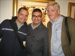 Phil Velez, Richard Lozada & Andy Humm (11.4.10)
