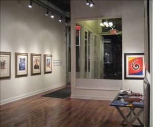 William Bennett Gallery entrance