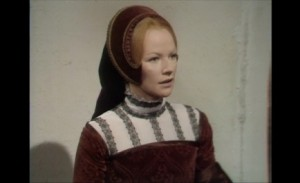 "Glenda Jackson as Elizabeth R in ""The Lion's Club"""