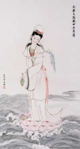Guanyin of the compassionate journey