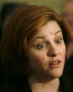 Christine Quinn crosseyed