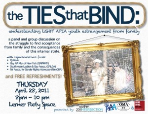 The Ties That Bind (4.28.11)