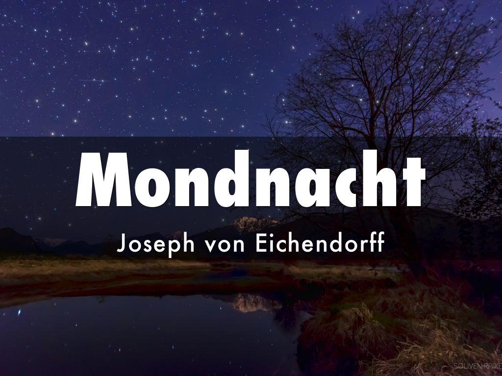 Gedicht joseph von eichendorff mondnacht